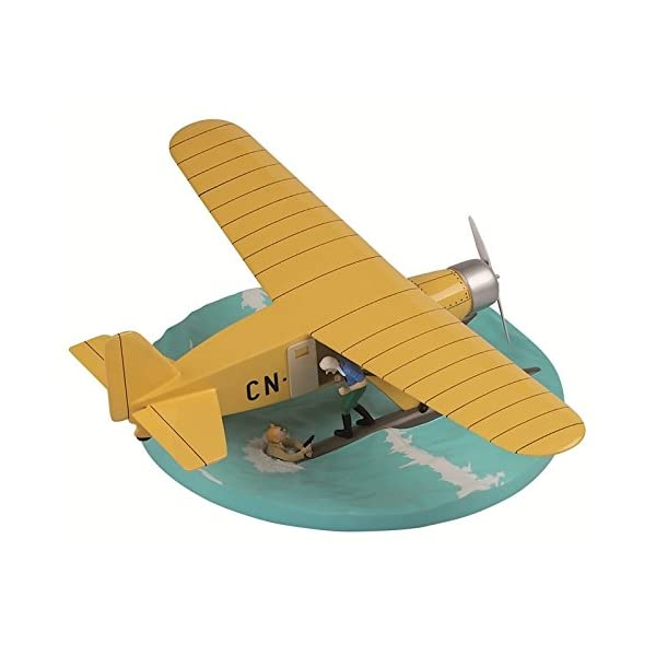 Maqueta de colección Tintín El Hidroavión CN-3411 40027 (2011) 1