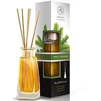 Raumduft Reed Diffuser Fichtennadeln - Pine Needle 100Ml - Mit Rattanstäbchen - Mit Naturreinem Ätherischen Fichtennadelöl... preisvergleich bei billige-tabletten.eu