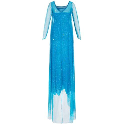 Imagen de 'katara 1768para disfraz de mujer vestido de princesa elsa adultos–disney
