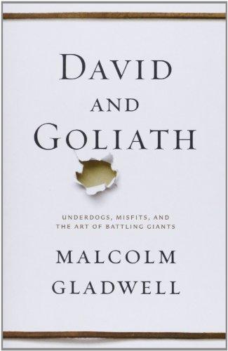 Buchseite und Rezensionen zu 'David and Goliath: Underdogs, Misfits, and the Art of Battling Giants' von Malcolm Gladwell