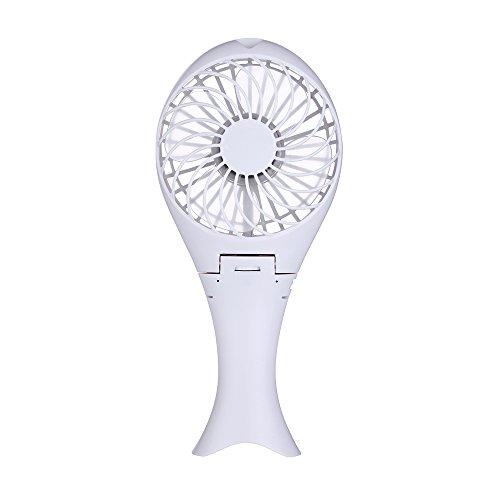 solotree mano ventiladores eléctricos Mini portátil al aire libre ventilador con batería...