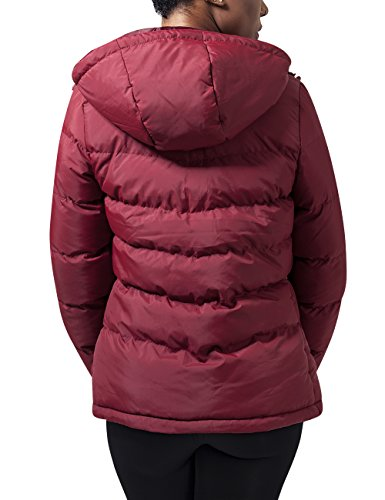 Urban Classics Damen Jacke Ladies Bubble Jacket Rot (burgundy 606)