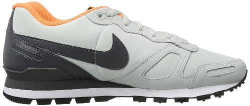 Nike Air Waffle Trainer Leather Unisex-Erwachsene Sneakers Grau (Grey/Grey-Heather 008) mkpaoh