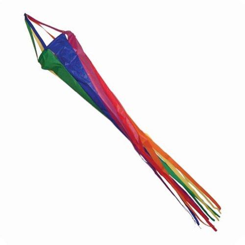 Arc-en-ciel spinsock 121,9 cm Manche à Air télescopique pour drapeau poteaux. Utilisation pour caravane et camping-car