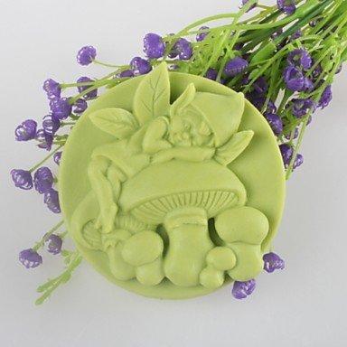 SHENCHI espíritu de setas de jabón en forma de molde mooncake molde de silicona chocolate fondant de moldes, herramientas de decoración para