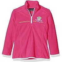 CMP maglia in pile, da ragazza Funktions Dolcevita, Bambina, Fleeceshirt Funktions Rolli, rosa caldo, 140