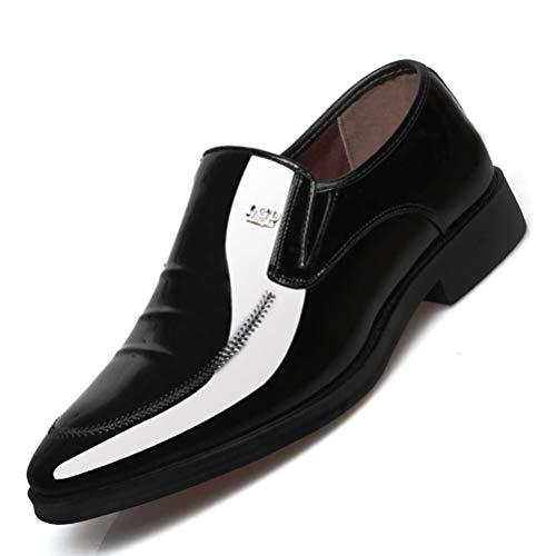 Büro Schuhe Männer Lackleder Männer Kleid Schuhe Sozial Männliche Weiche Leder Hochzeit Oxford Schuh Für Männer