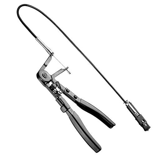 Preisvergleich Produktbild NEO TOOLS Pinzette für Demontage Kabelbinder Schwimmflügel klick mit flexiblem Kabel 11 – 221