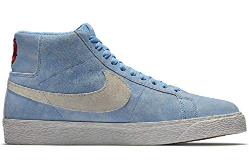 Nike Herren Sb Zoom Blazer Mid Sneakers, Mehrfarbig (University Blue/Light Bone/Habanero Red 001), 41 EU -
