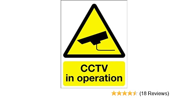 Warning Sign CCTV In Operation by Perfect Safety Signs