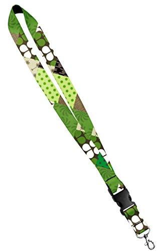 Argyle-snap (Moose Pet Wear Modisches Lanyard - Satin Schlüsselanhänger Halskette, Ausweishalter - Inch, Argyle 1 Inch Green Girl)