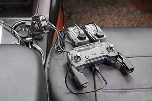 TwoCC Aerei per auto giocattolo telecomandato drone, 3 In1USB Porta caricabatteria per auto telecomando per Dji Spark Dro