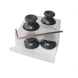 Global Game Gear GGG0024 Ersatz Analog Sticks – für den Microsoft Xbox 360 Controller, schwarz