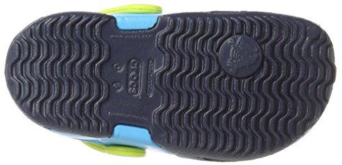 Crocs Electro Ii, Sabots - Mixte enfant Bleu (Navy/Electric Blue)