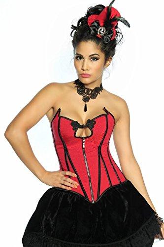 Burlesque Kostüme (Burlesque-Kostüm, Größe:M)