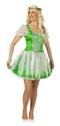 Karneval Damen Kostüm Gänseblümchen Kleid Blume an Fasching Gr.42