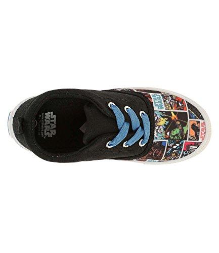 Star Wars-The Clone Wars Darth Vader Jedi Yoda Jungen Sneaker 2016 Kollektion - schwarz Schwarz
