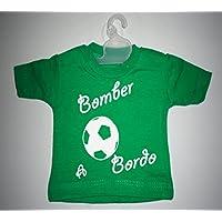Mini T shirt Bimbo a Bordo - Adulto Bomber Calcio Gruccia & Ventosa Auto