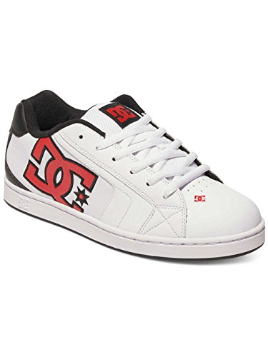 Dc Shoes Net M, Baskets mode homme Blanc - White/Athletic Red/Armor