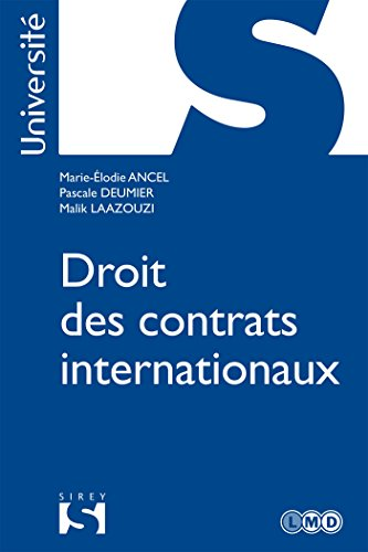 Droit des contrats internationaux (Université)