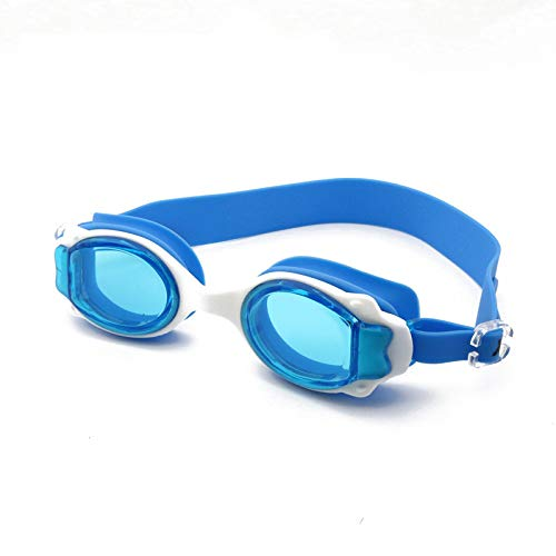 jsauwi Swim Goggles Swimming Goggles Adult Goggles Waterproof HD, Blue