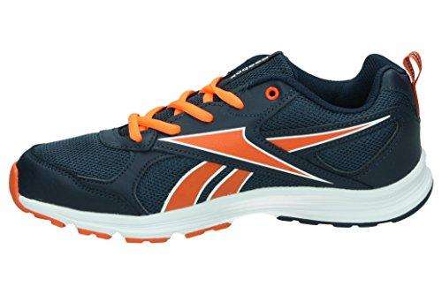 Reebok Jungen Ar2155 Sneaker, Blau Schwarz