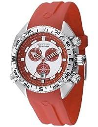 Sector Herren-Armbanduhr YACHT MASTER Chronograph Silikon rot R3271966015