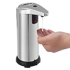 Idea Regalo - TAPCET 280ml Dispenser per sapone automatico/Distributore di sapone automatico in acciaio inox