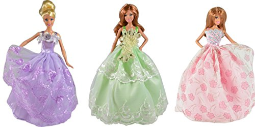 adm-1007-ball-gowns-magic-flower-3-dress-set-dolls-not-included-suitable-for-fashion-dolls-like-barb