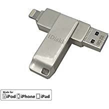 iDiskk Mini USB 3.0 32 gb para iphone/ipad
