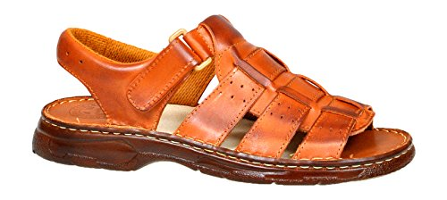 Comode scarpe da uomo in vera pelle di bufalo sandali modello-817