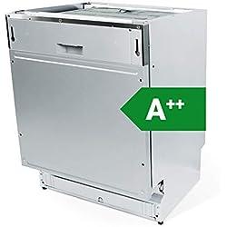 KKT KOLBE modèle GS60VI Lave-vaisselle encastrable tout intégrable / 60 cm / A++ Économie d'énergie / Panier supérieur avec fonction EasyLift réglable en hauteur / emplacements réglables