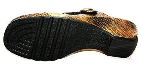 Theresia Muck Gil M54106-201-000 Damen Clogs & Pantoletten Bronze