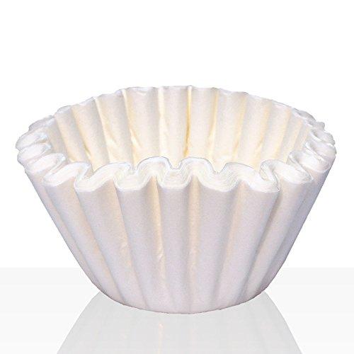 Korbfilter für Bonamat, Bartscher, Animo und Melitta, Kaffeefilter 1000Stk weiß, Filtertüten...