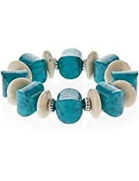 Turquoise bracelet for women - arrives in a pretty gift bag.