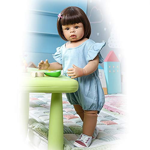 Zero Pam 70CM Reborn Niña Muñeca de niña Renacido bebé muñecas Realista recién Nacido niño Artesanal muñecas Infantiles Vinyl Completa Impermeable Bebé Muñecas Modelos de Ropa Infantil