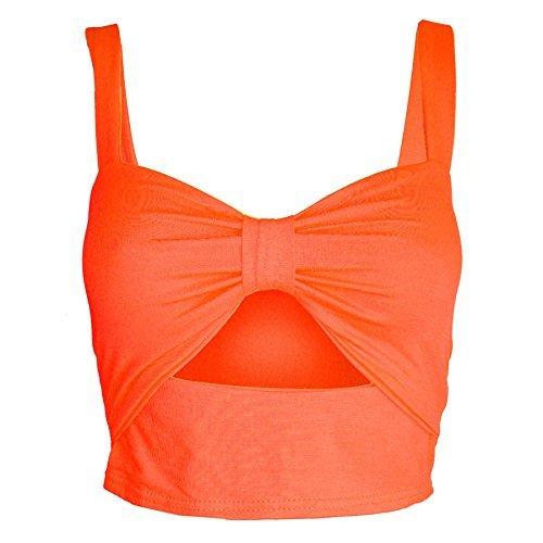 Be Jealous - Canotta - Senza maniche  -  donna Neon Orange