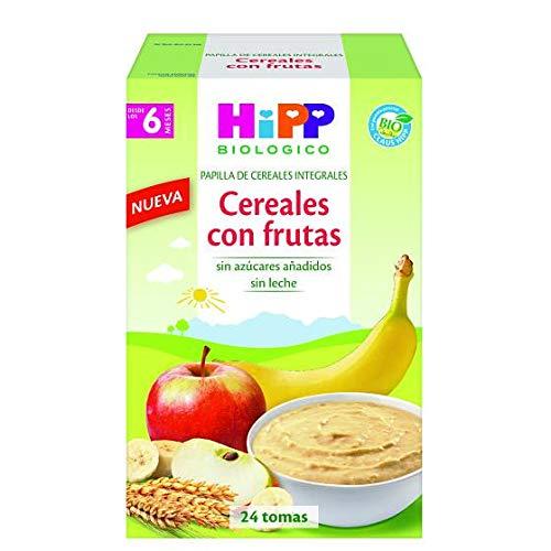 Papilla Biológica Cereales con frutas 6M HiPP