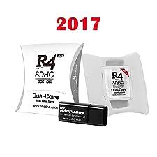 R4 blanche 2017 compatible ds/dsi/dsl/2ds/3ds/3dsXL/new3ds/new3dsXL micro sd NON fournie UNIQUEMENT jeux en 2D
