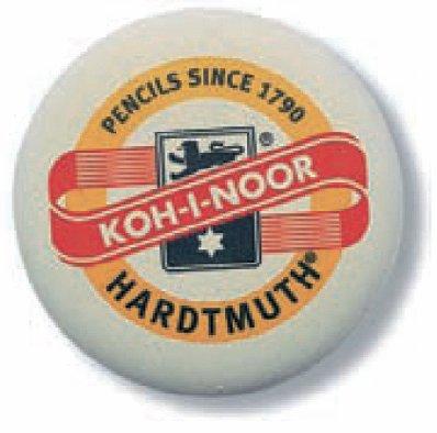 R-K6302 - 6 Stück Radiergummi RUND!!! von Koh-I-Noor!!! Der Kultradierer schlechthin! ideal für...