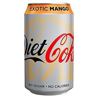Diet Coke Exotic Mango ohne Zucker 24 x 330ml