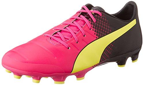 Ag sicurezza rosa nero Glo Evopower 1 Rosa 01 Giallo Scarpe Puma Uomo Da Trucchi Rosa 3 Calcio wOqZ7HIP