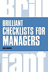 Brilliant Checklists for Managers (Brilliant Business)