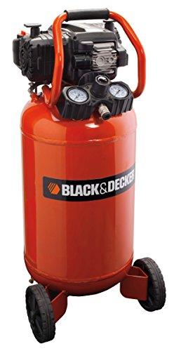 Black + Decker Kompressor mit 50 L Tank ölfrei, BD 227/50V