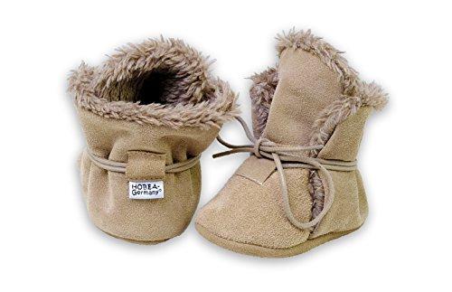 Baby Winterschuhe für Kinder von HOBEA-Germany, Größe Schuhe:22/23 (18-24 Mon), Grundfarben Schuhe/Modelle:beige