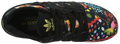 Adidas Originals ZX 5002.0W, Baskets Mode Damen Noir (Noiess/Noiess/Ormeta)