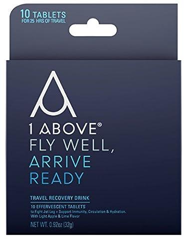 1Above Anti-Jetlag Flug Getränk Tabletten zur Vorbeugung und Verringerung von