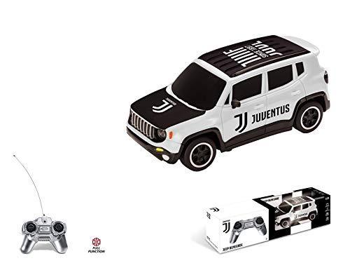 Mondo Jeep Renegade F.C. Juventus Veicolo Radiocomandato, Colore Bianco, Scala 1:24, 63555