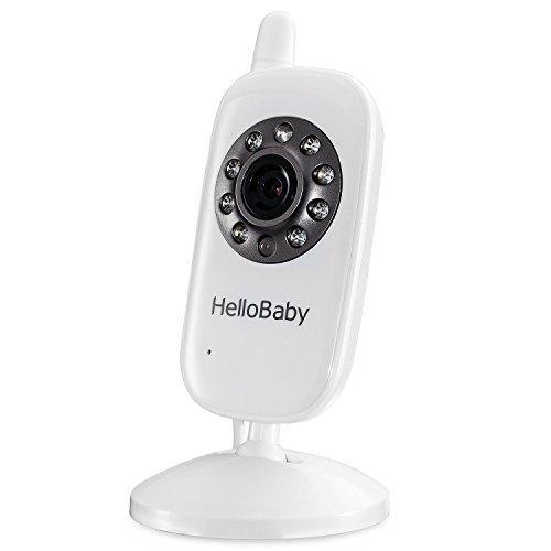 HelloBaby Cámara Adicional para Niños Cámara Adicional para HB20 HB24 HB32 Video Baby Monitor