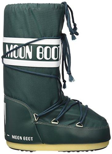 Moon Boot 140044, Stivali Invernali Unisex Verde (Petrolio)